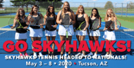 SVCC Women's Tennis Heads to Nationals in May